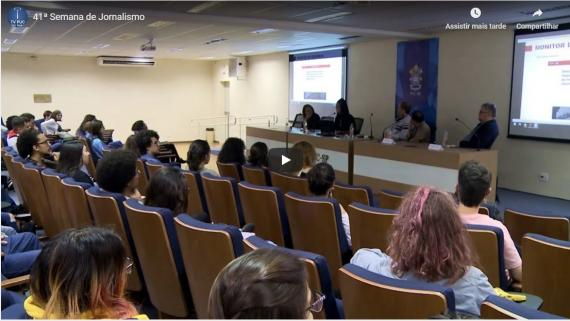 Embedded thumbnail for 41ª Semana de Jornalismo
