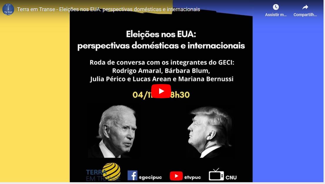 Embedded thumbnail for Eleições nos EUA: Cenário doméstico e impactos internacionais