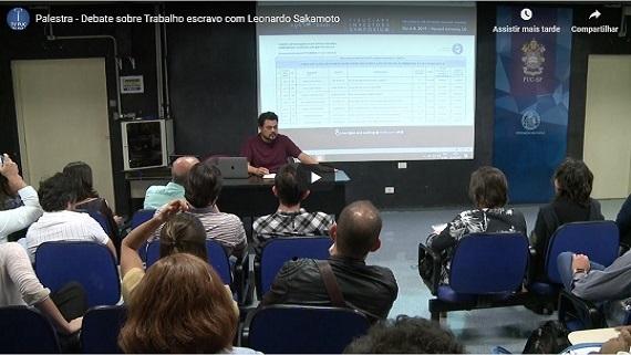 Embedded thumbnail for Palestra - Debate sobre Trabalho escravo com Leonardo Sakamoto