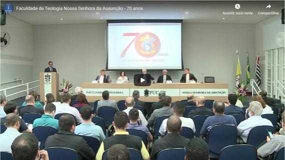 Embedded thumbnail for Faculdade de Teologia Nossa Senhora da Assunção - 70 anos