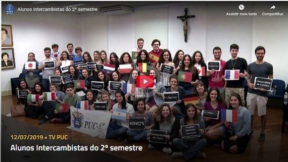 Embedded thumbnail for Alunos Intercambistas do 2º semestre