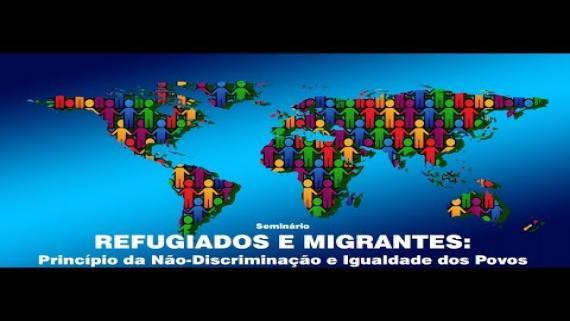 Embedded thumbnail for Seminário REFUGIADOS E MIGRANTES
