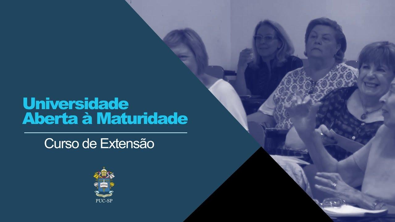 Embedded thumbnail for Universidade Aberta à Maturidade - Impactos da Pandemia em Nosso Dia a Dia